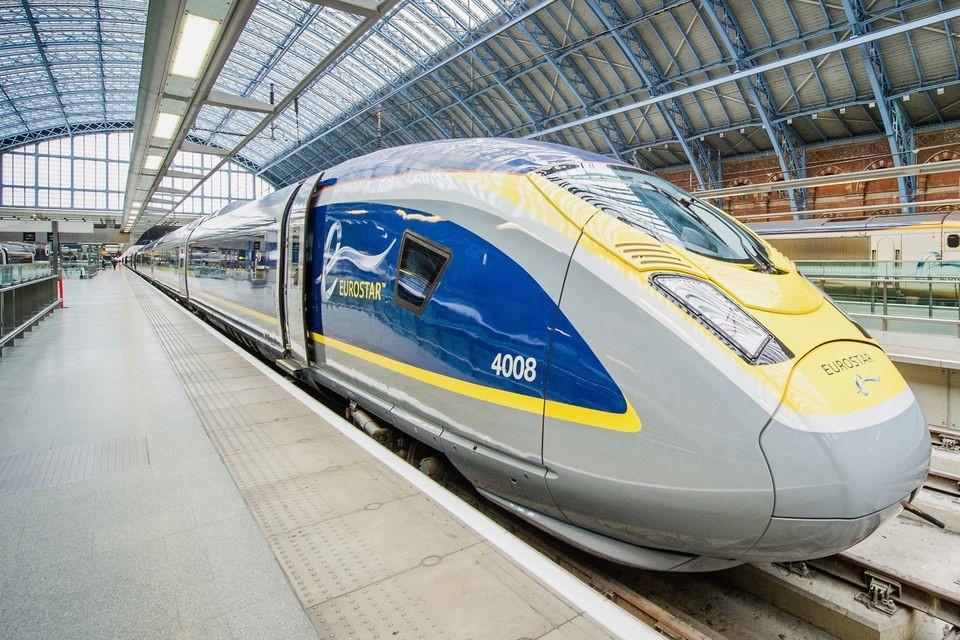 Prendre l'Eurostar